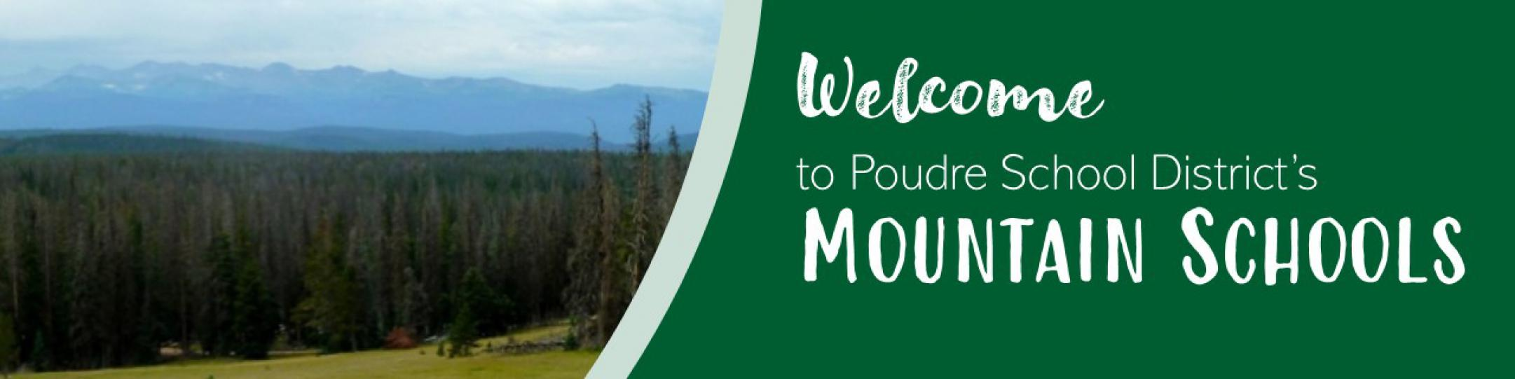 Welcome to PSD's Mountain Schools